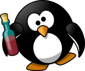 Mini Destille Pinguin