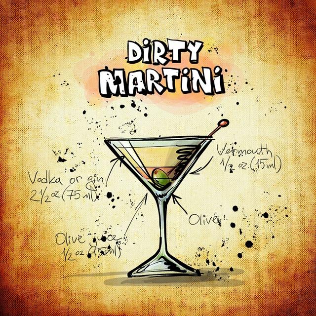 dirty-martini-829482_640
