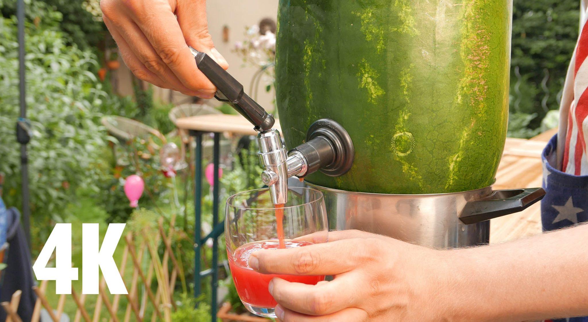 Wodka Melone - Johnnys Watermelon Keg - Cocktail Rezept