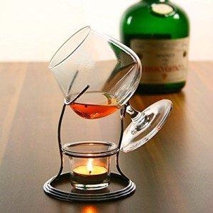 Whisky brennen Cognac und Brandy Wärmer mit Glas