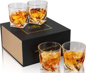 Whiskey Kristallgläser Set