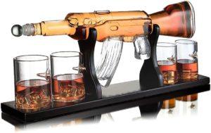 Hochwertiges Whisky Karaffen Set mit viel Zubehör